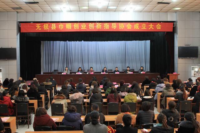 我县召开巾帼创业创新指导协会成立大会